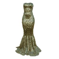 Mermaid Dress AV2 gold