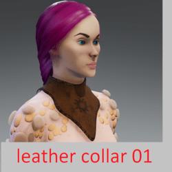 leather collar 01