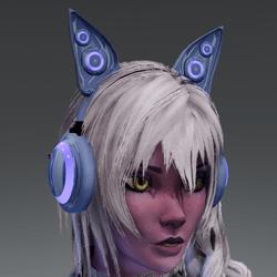 Anubis headphones BL