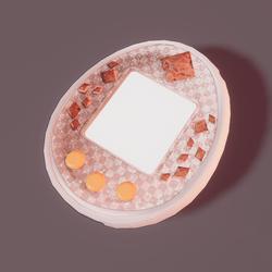 Tamagotchi Sp orange