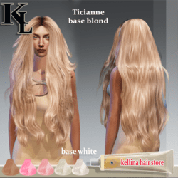 ticianne -base blond-perfect rigged.