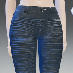 Blue Jeans Waxed X-Strength Wash-Stressed - Female