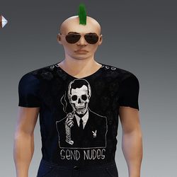 [INTOXICATED[ mens send nudes shirt