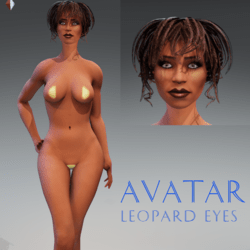 Avatar with Leopard Eyes