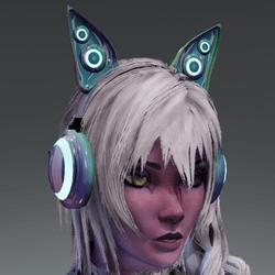 Anubis headphones HOLO-02L