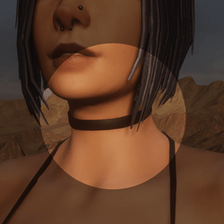 Alice's Simple Black Choker - Clothing