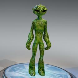 DNAelite Green Alien