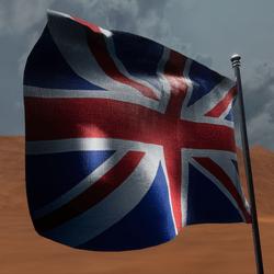 TKA Animate Flag United Kingdom