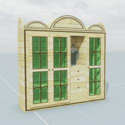 Furniture piece sideboard