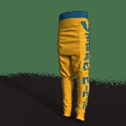 Urban Ninja Pants (male/yellow)