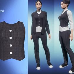 Womans Suit Vest