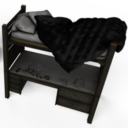 Twin Desk Bed No.4