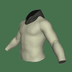 Slim Sweatshirt - Beige / Black
