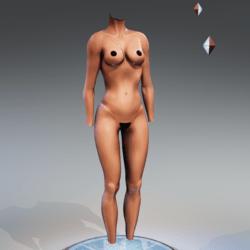 Kismet Body 1B with wet skin by Apocalypse Bunnies