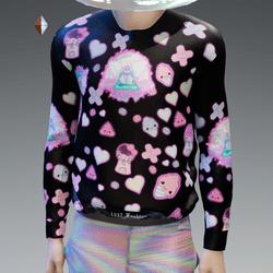 Kawaii Pastel Goth Sweatshirt