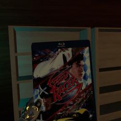 speed racer bluray case