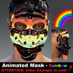 Animated Mask: Rainbow - Male Avatars