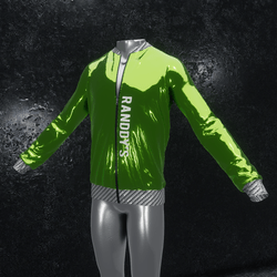 Jacket Chrome green