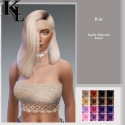 kia-light blonde roots base