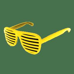 Shutter Glasses (Yellow) - Female