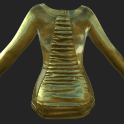 DELPHI DRESS GOLDEN