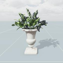 Flower Arrangement with Berries