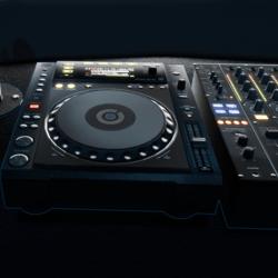 DJ Deck w Emission