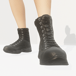 TKA BLACK BOOTS FOR WOMAN