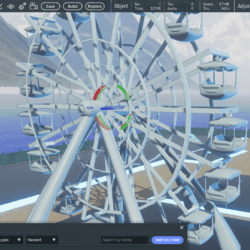 Fire Goats Ferris Wheel