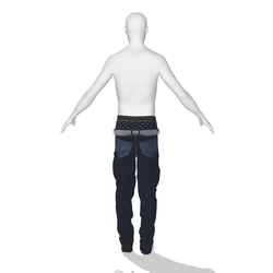 Sagging Male Jeans 001