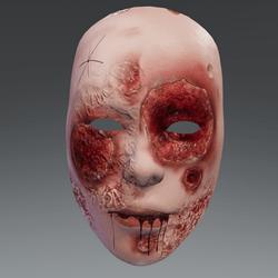 Facie Halloween Mask