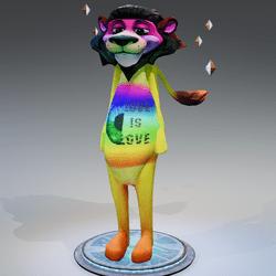Lion avatar Sansar Pride