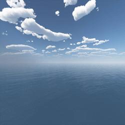 Oasis Blue Skybox