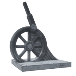 Monopoly Piece: Cannon