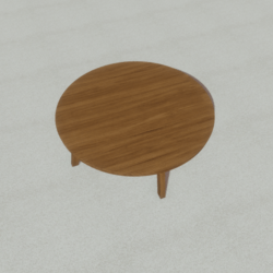 Furniture - round table