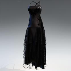 Halloween witch dress - black