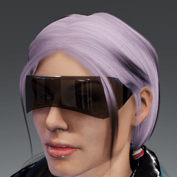 Saiborgu glasses - black