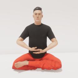 meditation 2 deep male