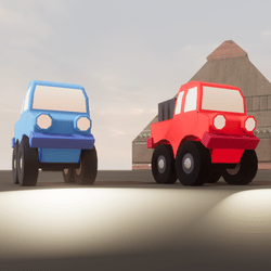 Toy Trucks Animated Set