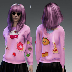 JUNK FOOD SWEATER