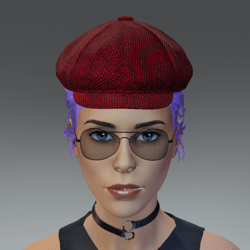 TKA Red cap and hair collected