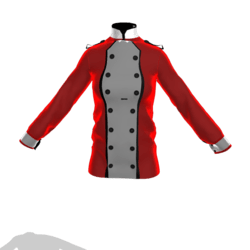 maroon red jacket