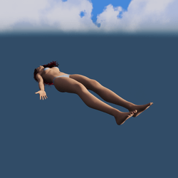 Levitation pose