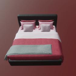 Bed b