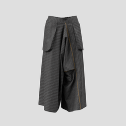 Trailblazing Pants - chalk striped gray