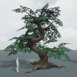 Gnarled Tree A | Stylized