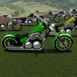 Green Bike Attachment