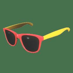 Sunglasses Red Yellow - Female