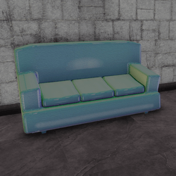 Cafe couch - holo C (3 seats)