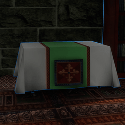 Clothed Altar